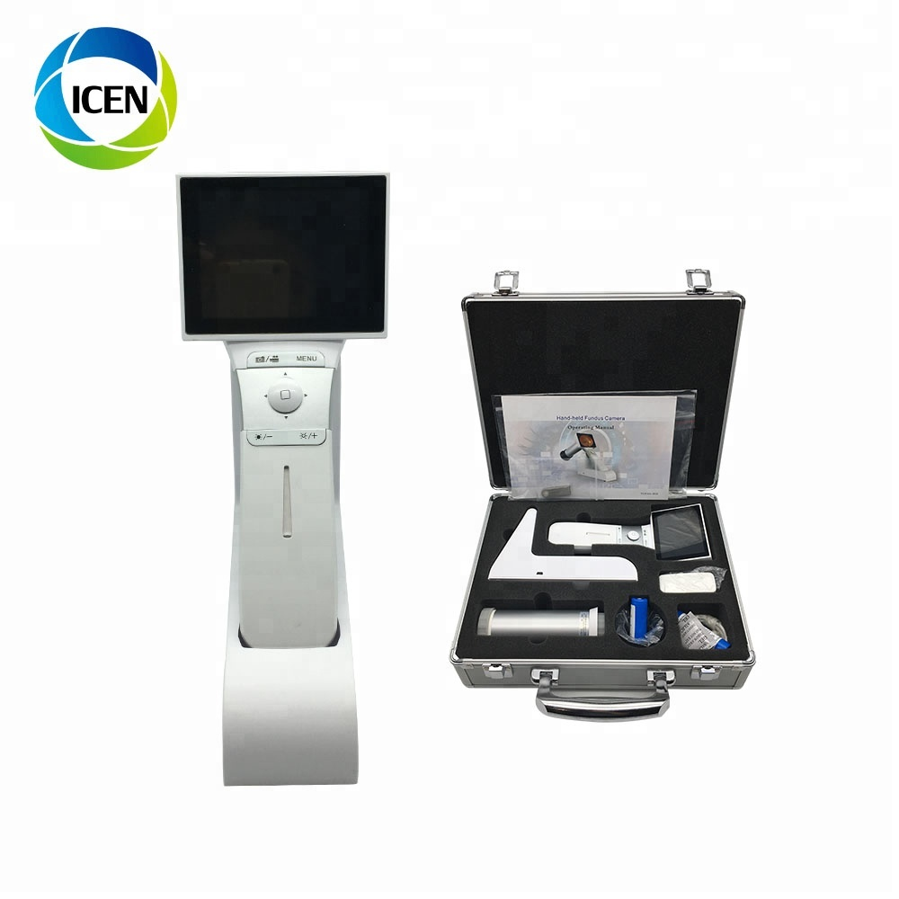 IN-V042  Portable Digital Ophthalmic Eye Camera Instrument Optical Topcon  Fundus Camera