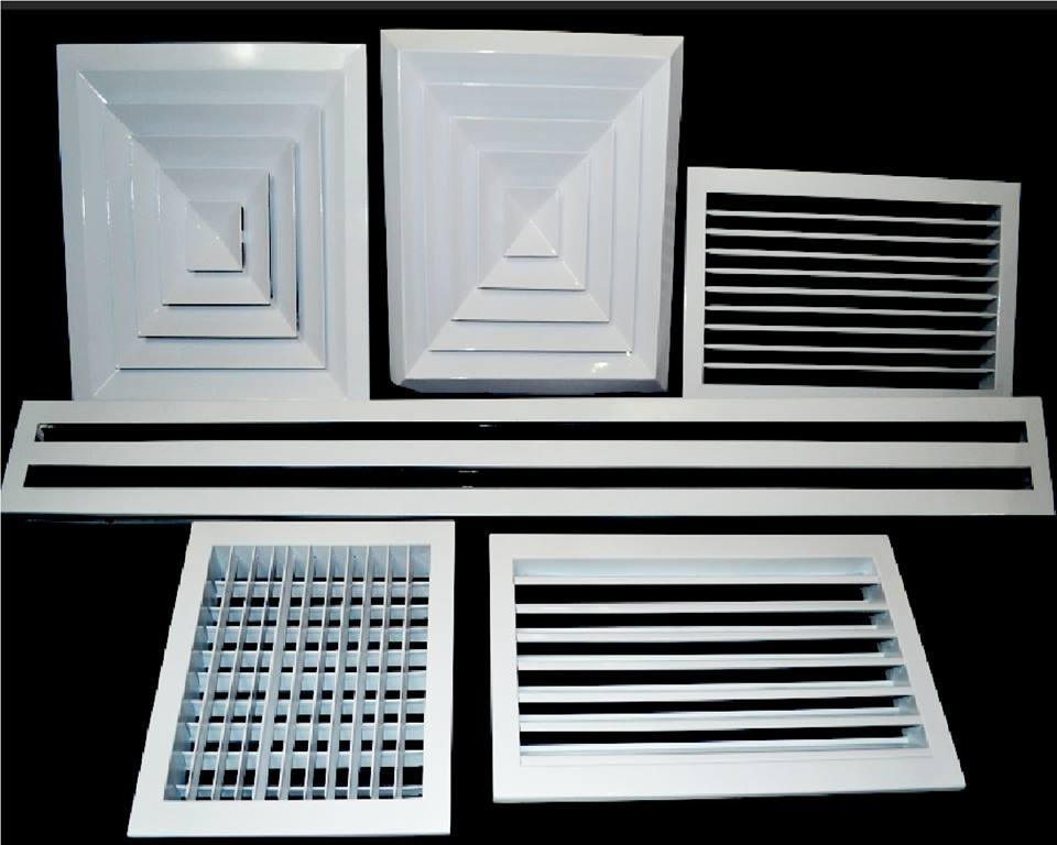 Image result for air grilles and diffusers
