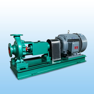 Horizontal stainless steel centrifugal chemical pump
