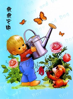 Cartoon Cloth Wall Painting Buy Picture Wall Picture Home Decoration Picture Product On Alibaba Com