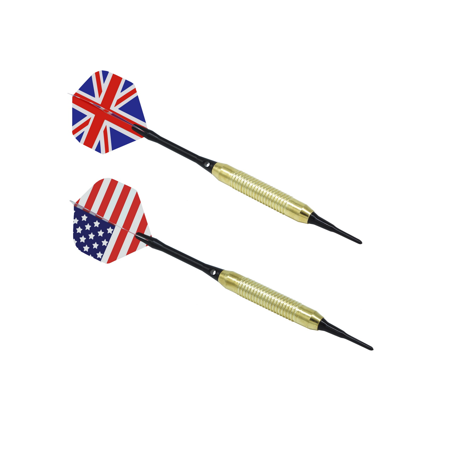 Cheap Brass Darts Set With Plastic Dart Shaft&flight with soft dat tip