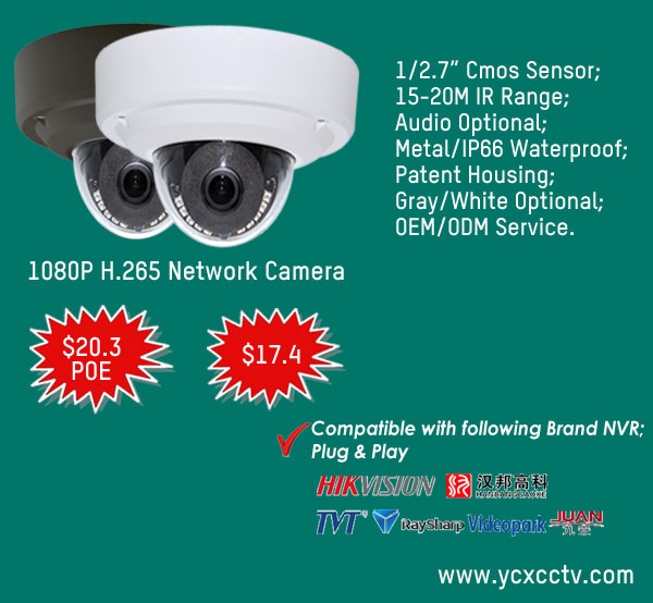 2019 Cheap 2MP Sony IMX323 Mini IP CCTV Surveillance Camera with Hikvision/  Dahua Protocol, View Sony Camera, YCX /OEM Product Details from Shenzhen