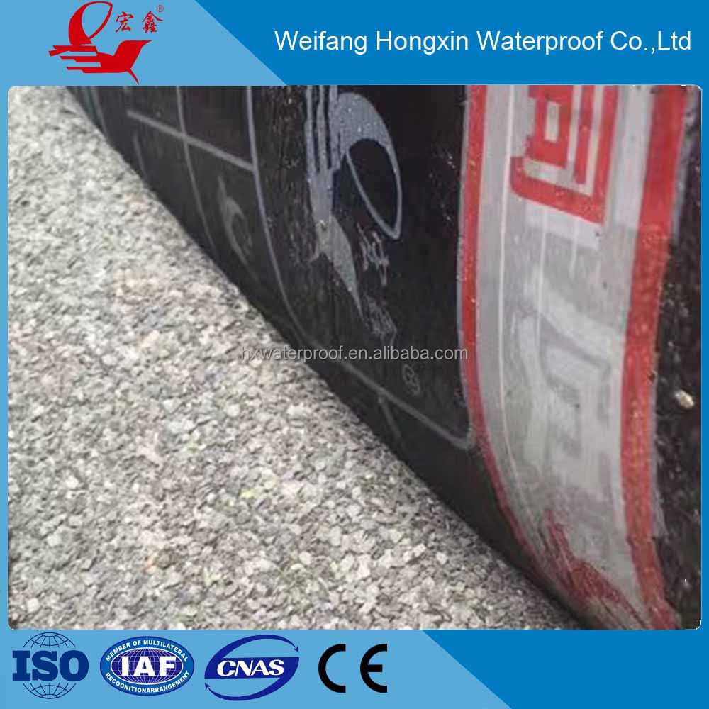 Top quality sbs waterproof asphalt roofing felt for construction