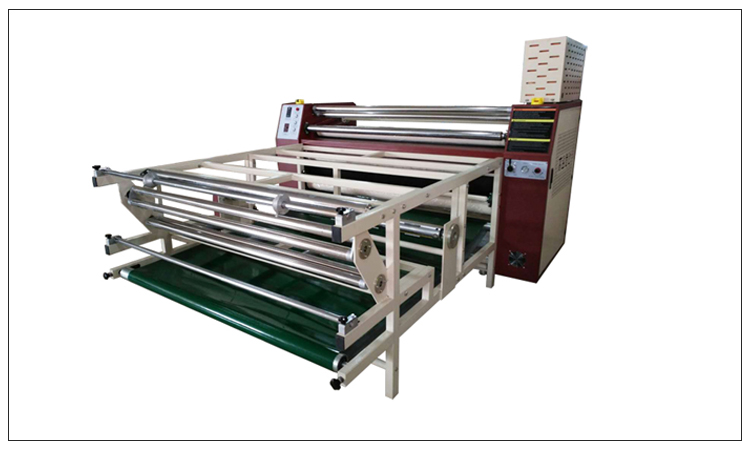 Sublimation Heat Press Roller Heat Transfer Printing Machine