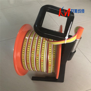 15m~500m Portable Cable Ruler Water Level Sensor with Alarm Water level  meter