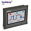 Functioning design 7 inch ips lcd hmi panel full view with extended third serial port touch screen plc factory price