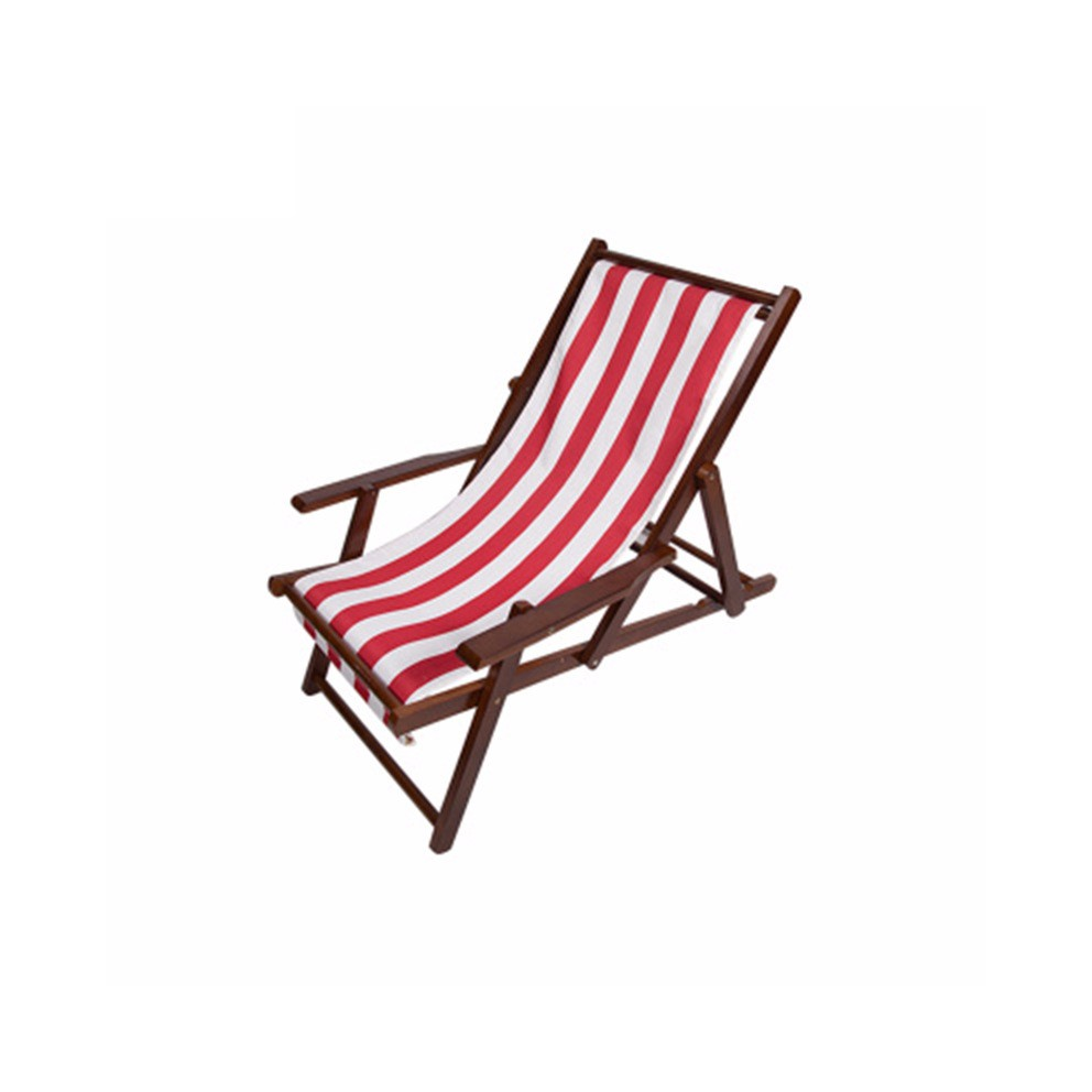 High Quality Portable Solid Wood Canvas Beach Chair - Buy ...
