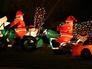 Guangzhou Manufacture Lowes Funny Inflatable Christmas Decorations