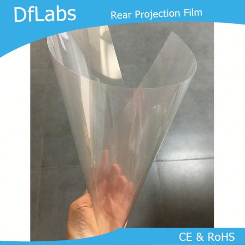 Transparent rear projection foil фото