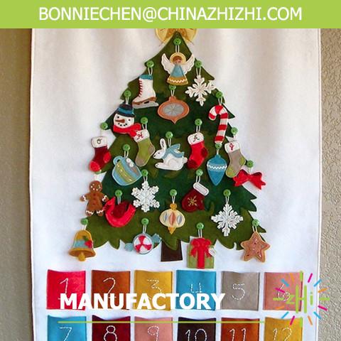 Felt Christmas Advent Calendar Handmade Advent Calendar Fabric ...
