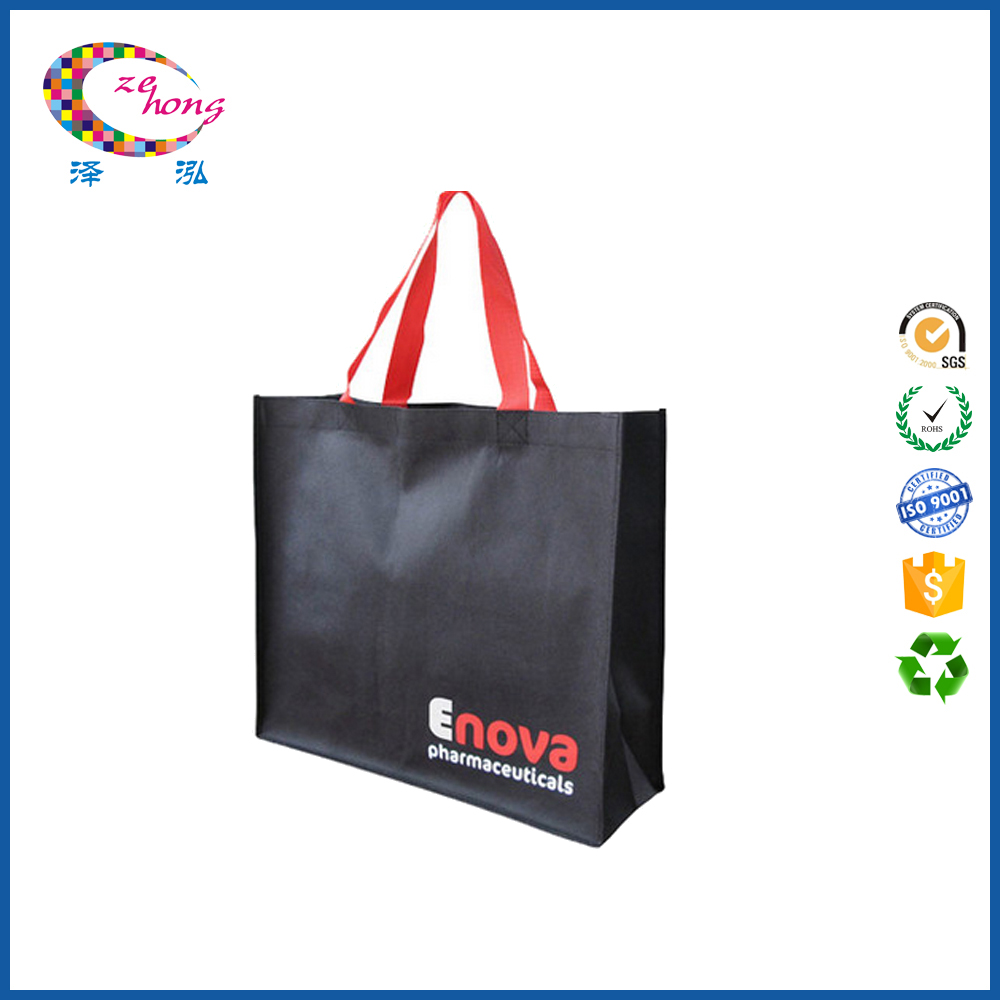 Top grade luxury super market shopping foldable tote bag bags for shopping