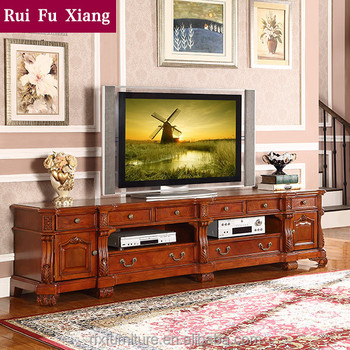 American Antique Style Solid Wood Tv Cabinet With Drawers T 231