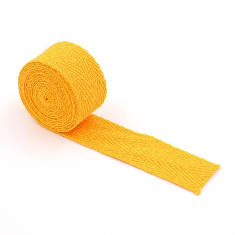 Natural Herringbone Twill Webbing Tape