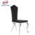 high back fabric italian leather dining chair made in China