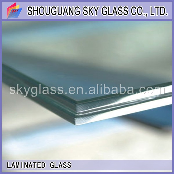 heat soaked tempered laminated glass balustrade factory float laminated glass price
