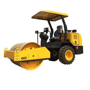 China manufacture mini 6 ton tire road roller for sale