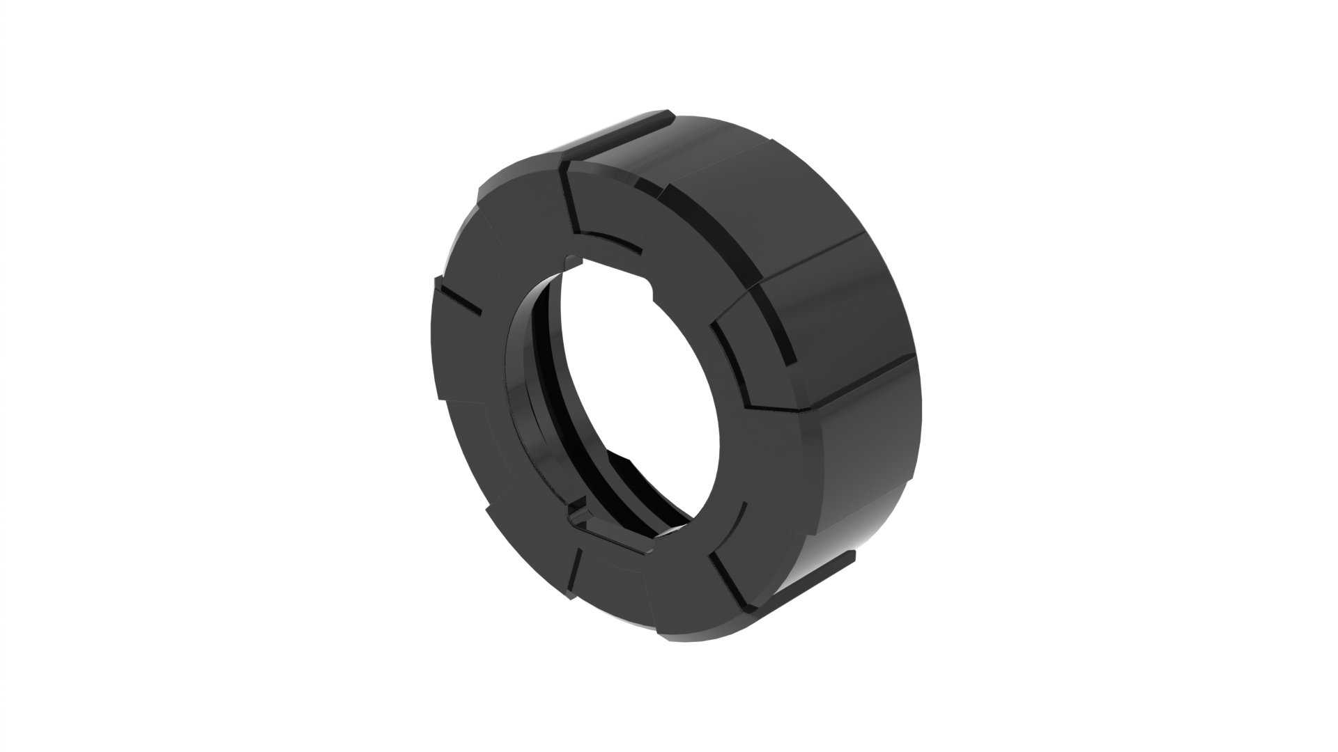 Albion Engineering 873-5 B-Line Plastic Front Cap for Albion B-Line Sausage Guns, Black