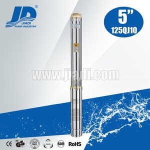 NEMA Standard electricity solar submersible deep well pumps