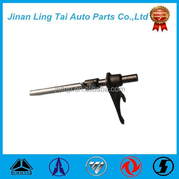 Sinotruk howo parts/tractor gearbox parts fork shaft assembly for HOWO truck