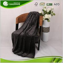 Wholesale professional portable knitted custom polyester life comfort blankets