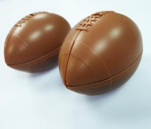 Novelty ideas American football rugby silicone ice tray mould