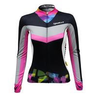 New design young style women cycling clothing mesh fabric anti-pilling sublimation custom cycling jerseys long sleeve