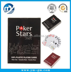 Poker Playing Cards PVC Waterproof Poker High Quality Playing Card