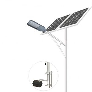 Good performance 20~100W solar street light & outdoor solar led street light
