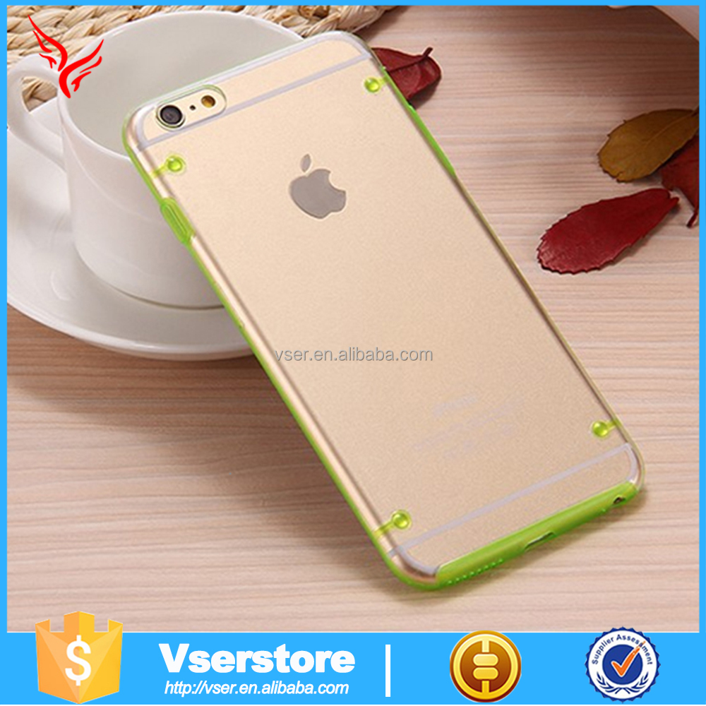 Lovely tpu phone case 2015 attractive tpu bumper phone case machuine for iphone5/5s