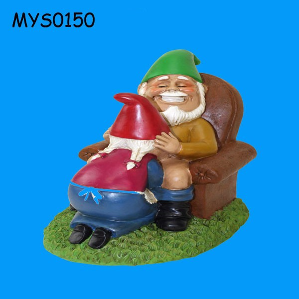 Elegant Funny Decorative Happy Couple Resin Garden Gnome   Buy Happy Garden Gnome,Handmade  Garden Gnomes,Resin Garden Gnomes Product On Alibaba.com