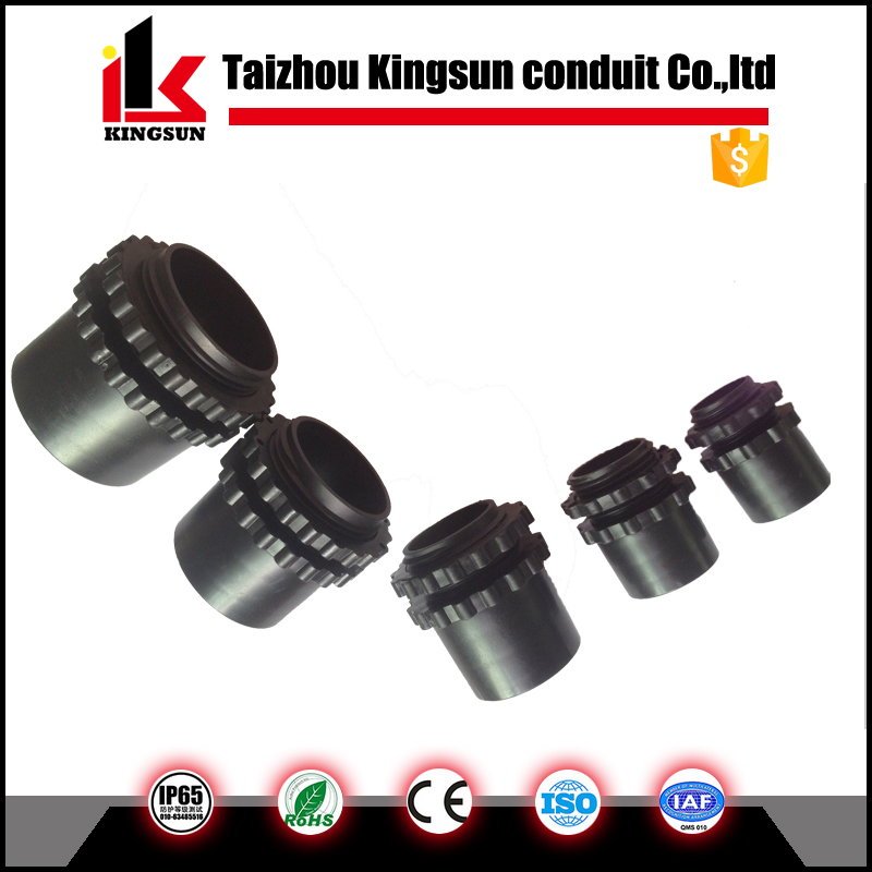 IP68 Nylon Plastic Corrugated Flexible Conduit Connector