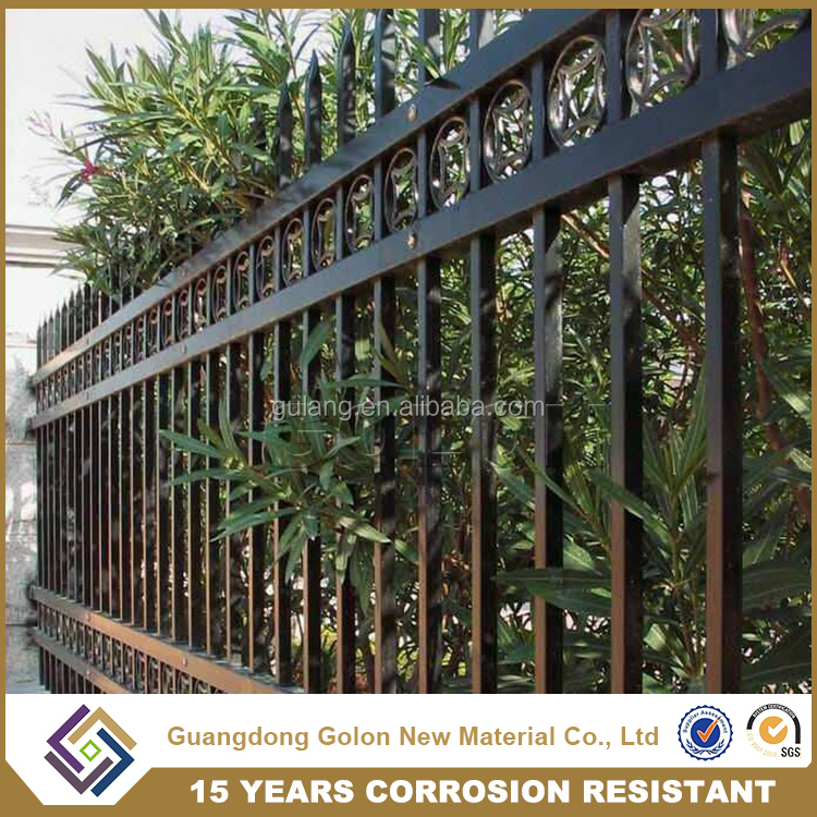 Galvanized square metal fence posts for sale