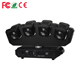 Color change disco light dmx sound music control 4-eye sharpy 4pcs 12watt 10w RGBW 4 in 1 LED Moving Head Beam led stage lights