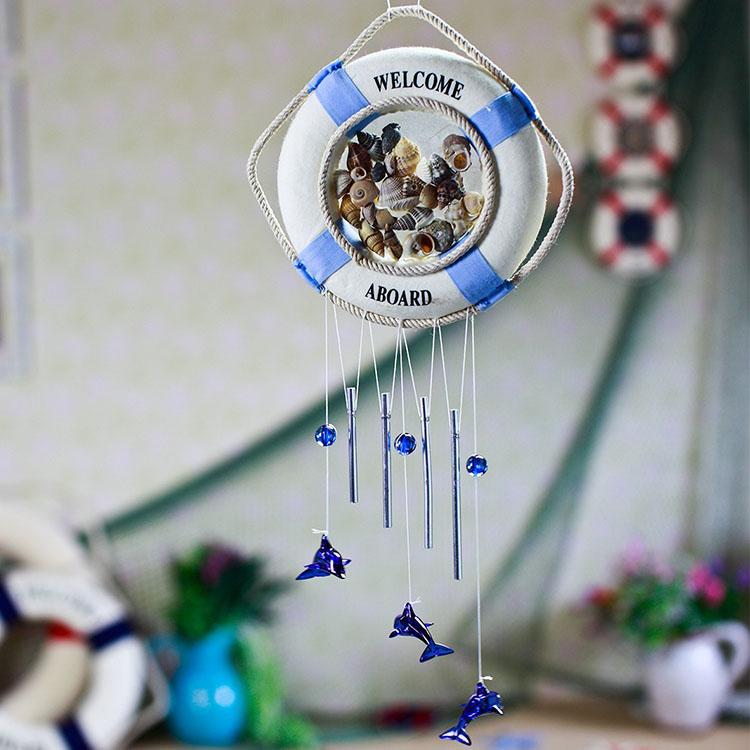 <font><b>Home</b></font> <font><b>decoration</b></font> handmade bunts shell wind chimes hangings door trim