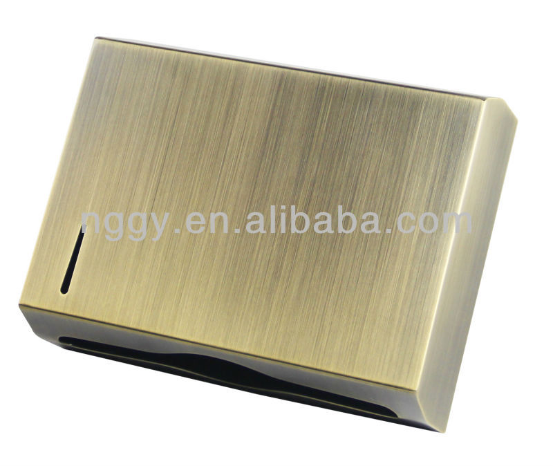 Bronze Z Fold Stainless Steel Paper Towel Dispenser D N218h Holder Toilet Tissue Product On Alibaba