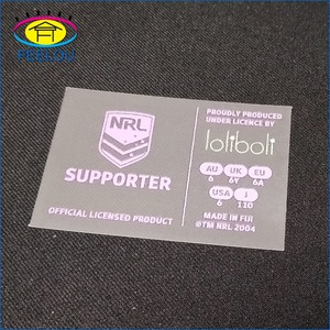 Good washable heat press transfer clothing label for tshirt