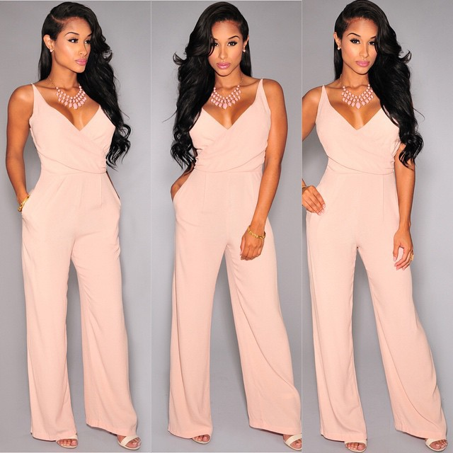 019aea829e6d Summer style rompers women long jumpsuit sexy club romper elegant jumpsuits  casual neck sleeveless jpg 640x640