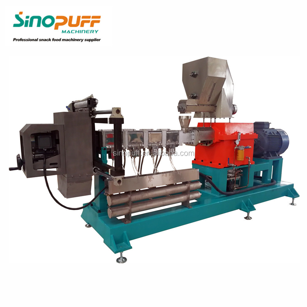 High Capacity 2D Pellet Snack Food Extruding Equipment/Papad Extruder