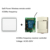 Battery 12V 1 2 3 Gang 1 Way Wall Switch Smart Home Appliances for LED, electric lamps,bathroom lights, fans