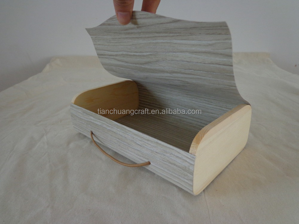 <strong>custom</strong> made poplar wood veneer chiristmas gift boxes 22x14x6.5cm