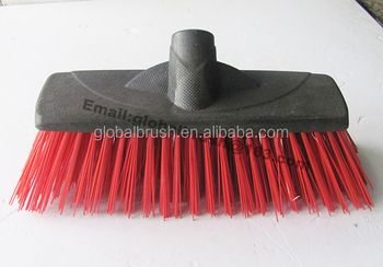 Item No 0029 Long Hard Pet Bristle Push Brush For Outdoor
