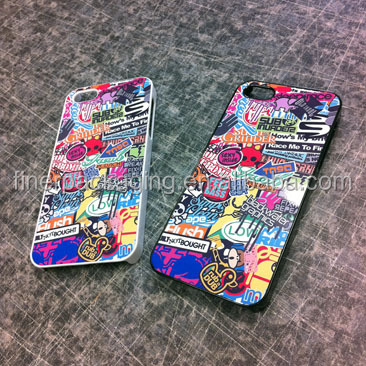 For wholesale phone accessories 3d phone case printer vinyl sticker for mobile phone