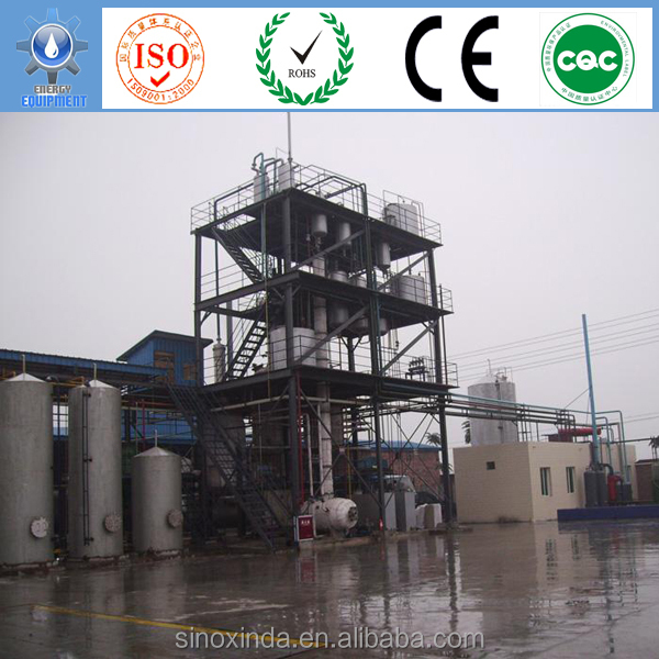 Daily 2 ton small biodiesel plant with overseas installation and training service