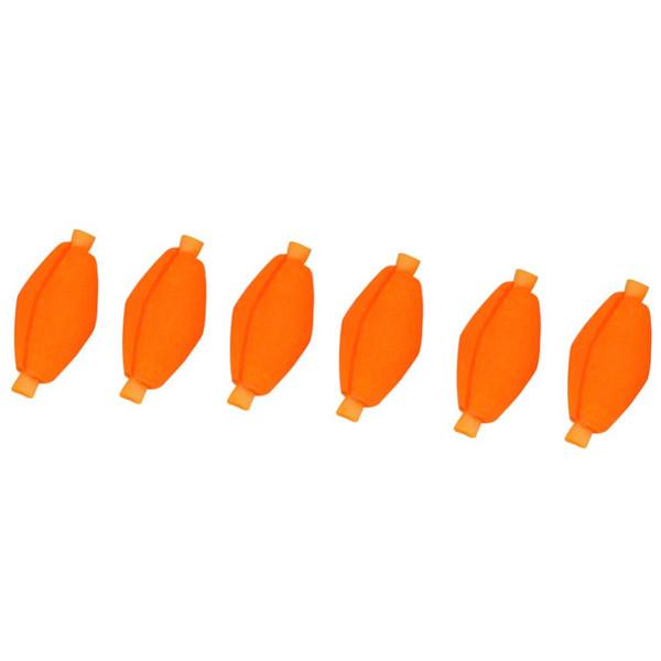 6pcs Flotador de la Espuma Pesca de la Mosca Bobbers Indicador de la Huelga Tackle de Pesca Flotador de Pesca con Mosca Bobbers de la Pesca