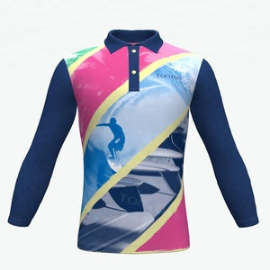 Latest New Model customize Fitness Crop sublimated printed design polo shirt made in vietnam