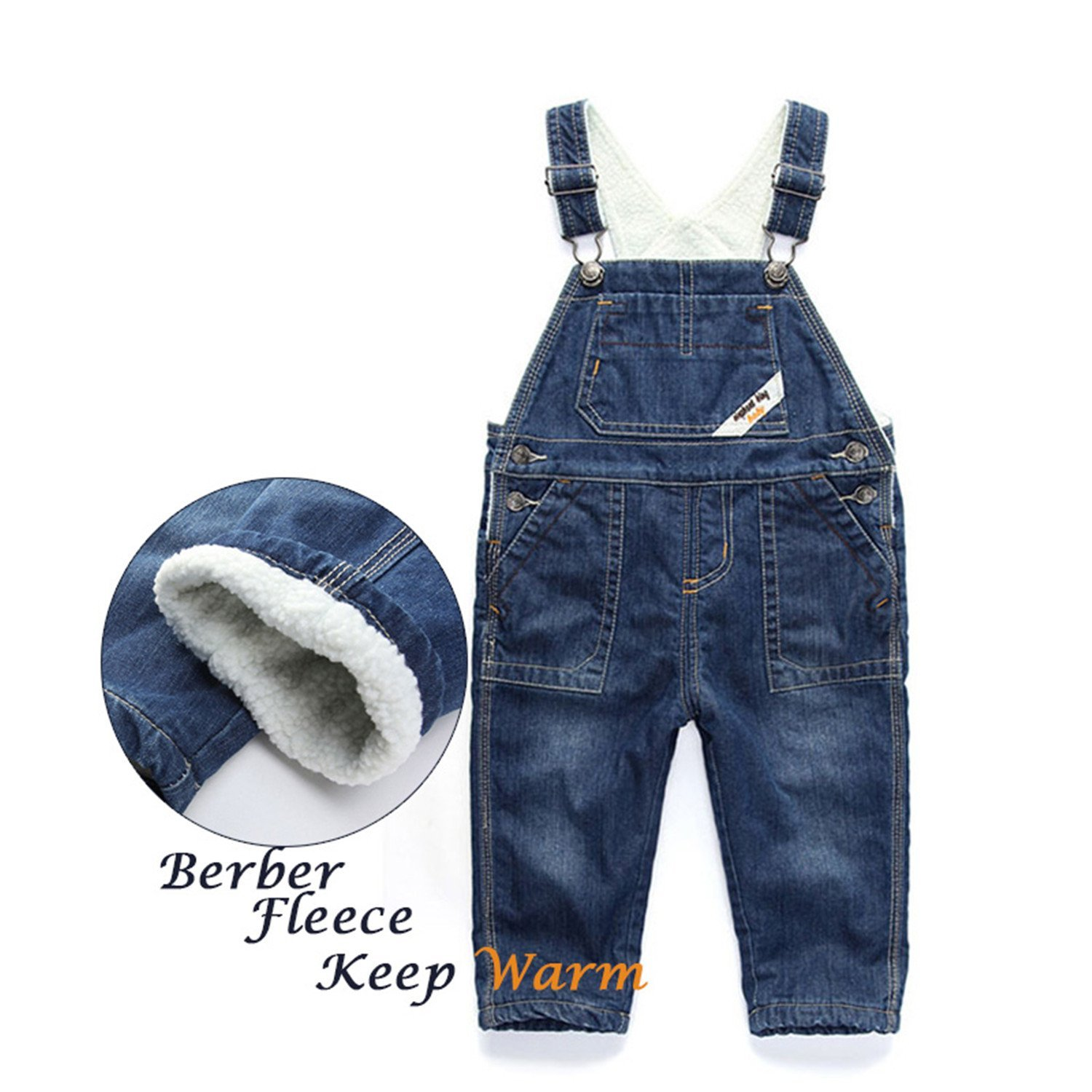 Pandapang Womens Bib Ripped Hole Braces Denim Jeans Jumpsuit Washed Overalls