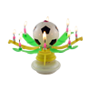 Beautiful football Birthday candle-Music Candle,Fire Work Al