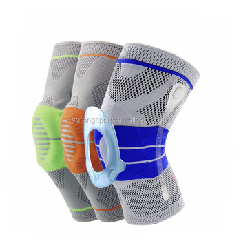 Fashion silicone knee guard knee protector knee support