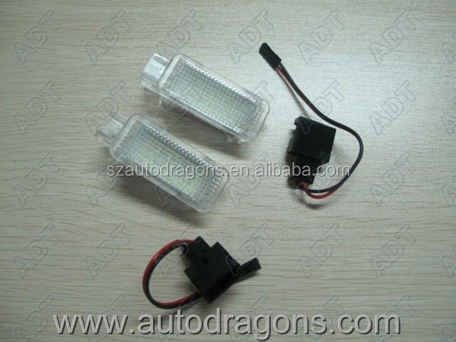 auto parts ,tail light LED License Plate Lamps for audi A2 A4 A5 A6 A8