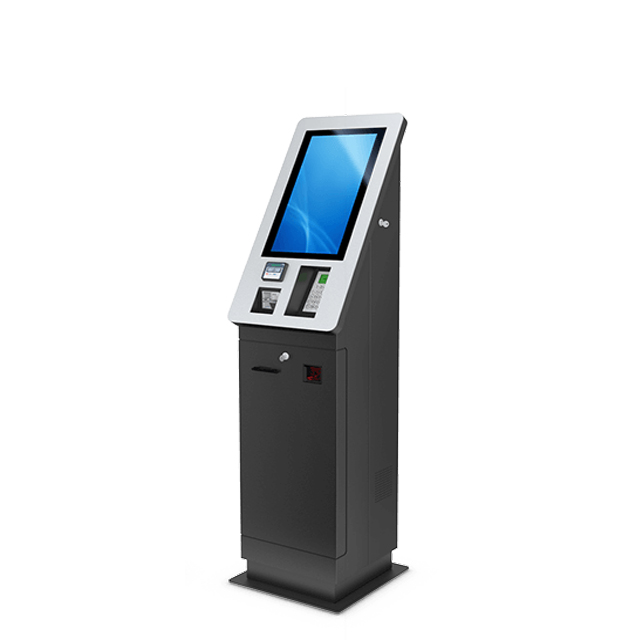 Barcode Self-service Atm Cash Acceptor Recycler Automatic Payment Terminal Touch Screen Kiosk